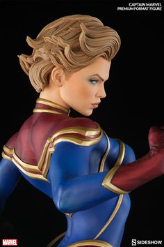 Captain Marvel Premium Format™ Figure by Sideshow Collectibles