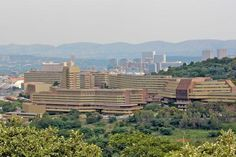 View of the University of South Africa (UNISA) from Fort KlapperKop Military… Purple City, Elephant Park, Port Elizabeth, Kruger National Park, Pretoria, African Animals, My Land, Rest Of The World, Africa Travel