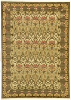 Brown 7' x 10' Kensington Rug | Area Rugs | eSaleRugs