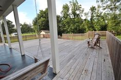 The Largest Wood Deck I've Ever Seen in Baton Rouge!