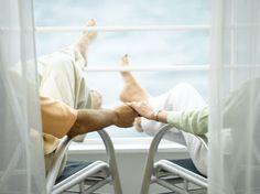 Romantic couple on Oceania Cruise Vacation; Avoya Travel Google+