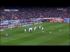 Diego Costa Free Kick - Altetico Madrid vs Real Madrid 2-1