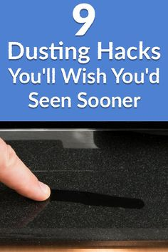 9 Dusting Hacks You'll Wish You'd Seen Sooner   Hometalk   Free yourself from pesky dust bunnies forever!