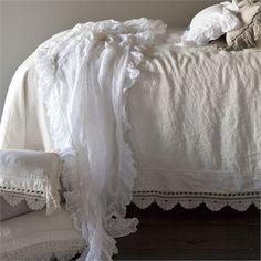 Linen Whisper Bed Scarf