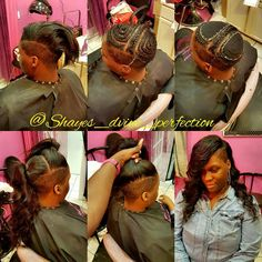 2 Part Vixen Pronto Quick Weave   (817)714-8362 Arlington Tx Booking done online ONLY at: www.styleseat.com/shalandawilliams2
