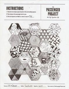 Passenger Project - Hexagon Sketches