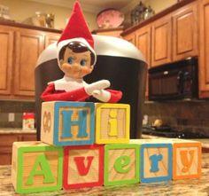 Elf on the Shelf ideas - lots of cute ones!