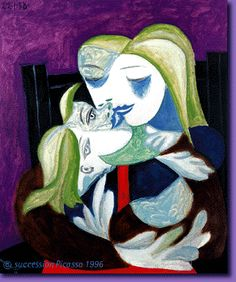 Picasso  Mother and Son