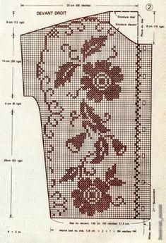 CARAMELO DE CROCHET: falda en crochet