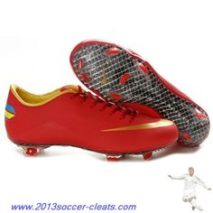 best sneakers 4a58e cacf6 2013 Nike Mercurial Vapor VIII FG - mercurial 8 firm ground - Red Golden  Football Boots