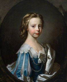 Anne Erskine (b.1740), Daughter of John Erskine, 14th of Dun and Wife of John Wauchope of Edmonstone, Allan Ramsay, 1747. Collection: National Trust for Scotland