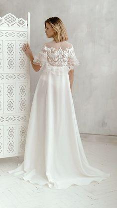 Wedding Dress Trends, New Wedding Dresses, Wedding Suits, Designer Wedding Dresses, Wedding Lace, Wedding Headband, Lace Weddings, Bridal Robes, Bridal Lingerie