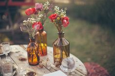 Gipsy inspired wedding shooting, in South of France. Photos by Reego Photographie