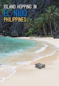 Island hopping near El Nido, Palawan, the Philippines