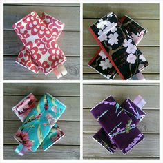 Suck pads/ drool pads for baby carriers by LittlestDelights