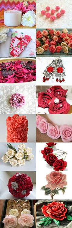 Rosey Day by WE on Etsy--Pinned with TreasuryPin.com