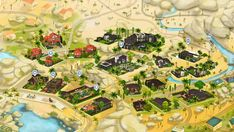 Just finished completely rebuilding Oasis Springs for my savefile! Sims 4 Game Mods, Sims Games, Sims 4 Mods, Sims House Design, Casas The Sims 4, Sims Building, Plane Design, Sims 4 Cc Furniture, Sims Ideas