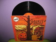 Rare Vinyl Record Haunted House Music LP 1985 by JustCoolRecords, $25.00