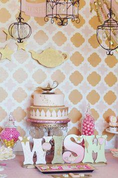 Genie Party Birthday Party Ideas | Photo 36 of 39 | Catch My Party