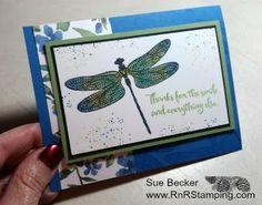 RnR Stamping: Dragonfly Dreams Sneak Peak!