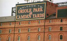 Baltimore Orioles Baseball Park at Camden Yards. Fine Art Photography.