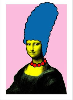 Mona Simpson by Nick Walker.    ... wish they'd rerelease this print...