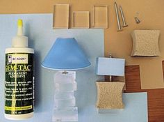Diorama - Hawaiian style - lots of photos and tutorials.  Love these lamps