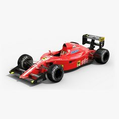 Today we would like to introduce the #Ferrari 641. It was the #FormulaOne #racing car with which the Ferrari team competed Formula One season in 1990. The car scored 6 wins that season - Prost with 5 wins, Mansell with 1 win. Meet #lowpoly #PBR #3Dmodel of this old good car. #optialdreamsoft