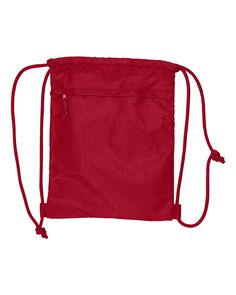 Liberty Bags - Ultra Performance Drawstring Backpack - 8891 Red