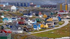 QAQORTOQ, GREENLAND  Welcome to the Lego block town of Greenland!