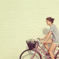 What's in your basket? #chick #bike