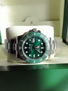 My Rolex Submariner green edition