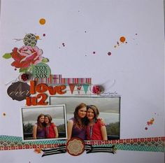gorgeous layout by Gina Rodgers
