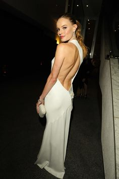 Kate Bosworth in Alexandre Vauthier. [Photo by Amy Graves]