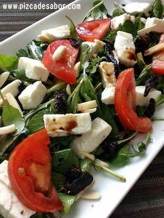 Salad Dressing Recipes, Salad Recipes, Diet Recipes, Vegetarian Recipes, Healthy Recipes, Healthy Cooking, Healthy Snacks, Healthy Eating, Vegetarian