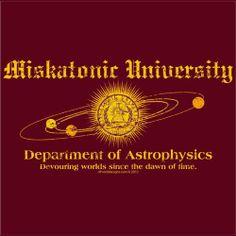 Miskatonic University - Department of Astrophysics