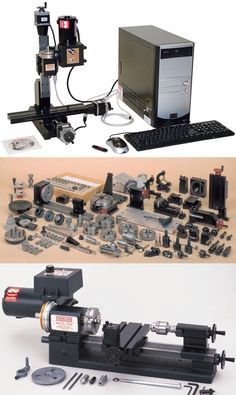 Sherline offers the world's most complete line of mini benchtop precision manual and CNC lathes, milling machines and machine shop accessories for light industrial and home shop use.