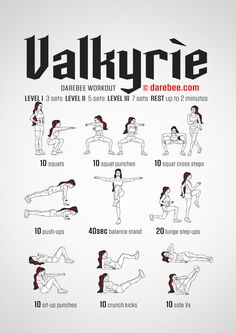 Valkyrie Workout - Normal (Strength and Balance)