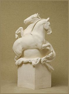 'Lusitano' (2010) by English sculptor and artist Susan Leyland (b.1952). via the artist's site