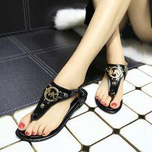 Mode de nouvelles chaussures d'été 2015 femme sandales femmes sandales pour les femmes tongs sandales compensées femmes fille pompes plage de sable fin(China (Mainland))