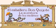 Start with autor- T/F kids mark their ideas and then check while listening/watching Don Quijote para niños ~ EduTIC - cannot be viewed/used on the iPad, but would work in the computer lab Spanish Classroom Activities, Classroom Themes, Activities For Kids, Ap Spanish, Spanish Culture, Spanish Teacher, Teaching Spanish, Teaching Culture, Country Day School