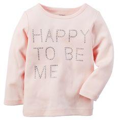 Kid Girl Happy Tee | Carters.com