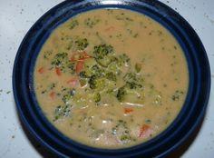 Fresh Broccoli Cream Soup