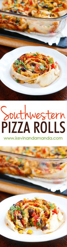 Seasoned chicken, seared veggies, and gooey melty cheese are all rolled up in soft, chewy pizza dough and baked 'til golden brown and delicious.
