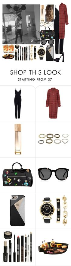 """""""Party time withZayn"""" by zandramalik ❤ liked on Polyvore featuring Topshop, Caudalíe, Karl Lagerfeld, Karen Walker, Casetify, Anne Klein, Lord & Berry and Emile Henry"""