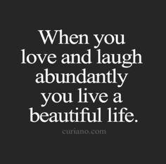 live a beautiful life