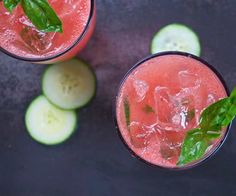 Watermelon cocktails with which to welcome summer