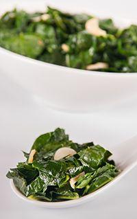 Braised Broccoli Leaves