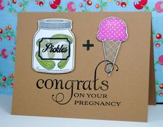 Pickles & Ice Cream Card  More info: roofth.com/crafterly/archives/1149