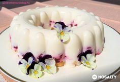 Habkönnyű epres-túrós desszert